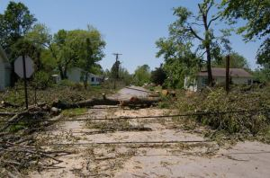 A photo of my hometown after the inland hurricane in 2009, from startlingmoniker.wordpress.com.