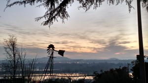 Unbelievable sunrise photo I took overlooking the Willametter River this spring.